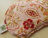 Rice Filled Eye Mask Pink Paisley