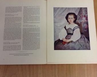 1952 Abrams Art Book with 16 RENOIR  full color prints
