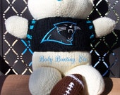 Baby Bobbi Team Bear - Carolina Panthers