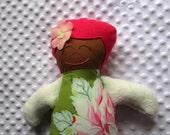 Willa Large Handmade Fabric Baby Doll