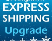 Overnight shipping upgrade add to your order