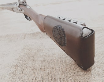 Shotgun Buttstock Cover with Shell Loops