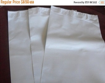 Pre Holiday Stock Up Sale 50 Pack Tear Proof White Size 2 Plastic Poly Mailing Self Stick Closing Envelopes 7.5X10.5 Inches