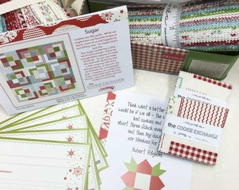 Frivols 10 tin Sugar featuring The Cookie Exchange by Sweetwater by Moda