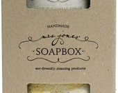 Laundry Soap and Soft Scrub gift box