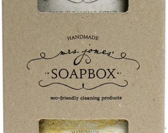 Laundry Soap and Soft Scrub gift box