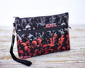 Clearance Zombies Wristlet with removable strap - The Walking Dead