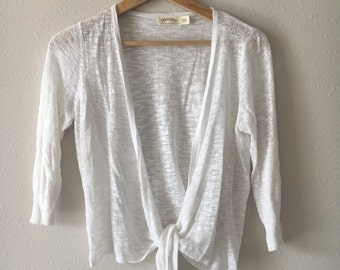 Size Small 3/4 Sleeve Sweater Shrug