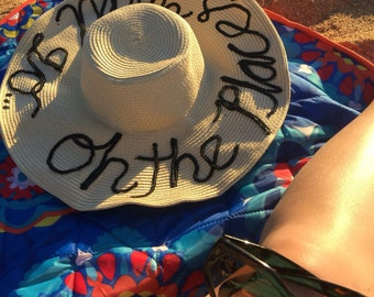 Made to Order Customized Floppy Hat