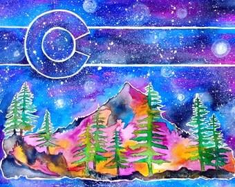 Colorado Sky Print