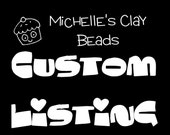 Custom Listing for MadysenLeigh Only
