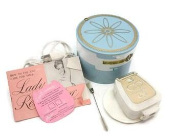 Lady Remington Electric Shaver - Gold Razor In Original Box