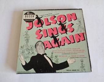 Jolson Sings Again 45s 1949