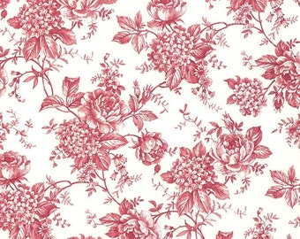 Made In Italy Authentic Florentine Paper For Your Projects Red Floral Design By Tassotti