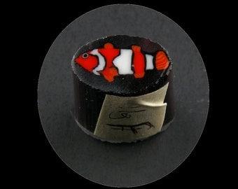 Clownfish by Greg Chase Murrine Boro Cane 11 grams - 146 F
