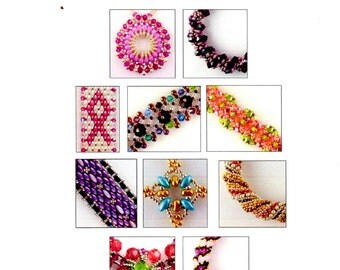 Our Favorite Stitches 4 - 10 Beadweaving Tutorials - Instant Download