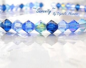 SERENITY Swarovski Crystal Bracelet  PICK Your Size