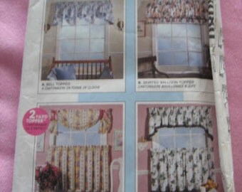 McCall's Home Dec Pattern 8080, curtains