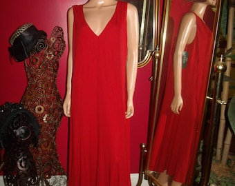 Great Gatsby Vintage Red  Dress Flapper  Tea Party Size 3X
