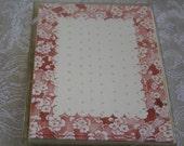 Susan Branch Shades of Rose Cottage Flower Design Vintage 10 Cards & Envelopes Acid Free Paper