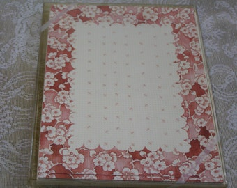 Susan Branch Shades of Rose Cottage Flower Design Vintage 10 Cards & Envelopes Acid Free Paper