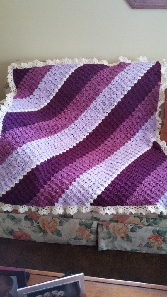 Handmade Afghan/Couch Throw