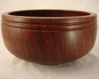 Red Gum Eucalyptus Wood Salad Bowl