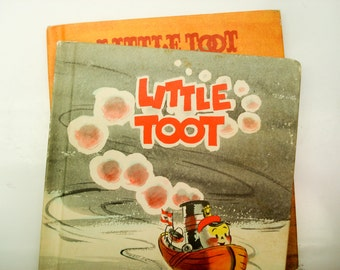 Little Toot children's books - 1939 and 1978 - great stories and excellent illustrations