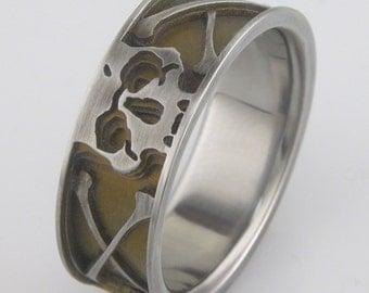Pirate Life Titanium Ring