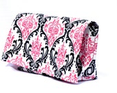 Coupon Holder, Coupon Organizer, Coupon Wallet, Receipt Holder, Purse Organizer, Ready to Ship, Candy Damask Fabric