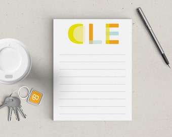 25% OFF! Cleveland Notepad