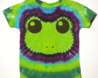 Baby Frog Tie Dye Shirt Size 12 months