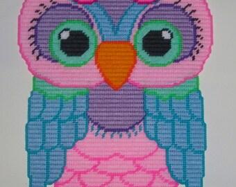 Pastel Owl #1 Wall Hanging