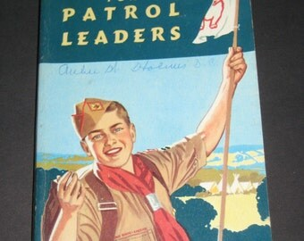 Vintage (1955) Handbook for Patrol Leaders - Boy Scout Handbook
