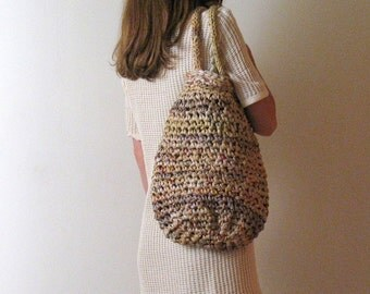 WOVEN MULTICOLOR market bag