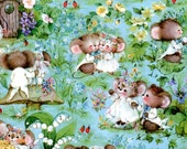 Vintage Wedding Wrapping Paper Cutest Mouse Mice Couple Wedding Bridal Shower Gift Wrap NIP Vintage Paper With Note Card Scrapbooking Crafts