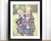 Big Little Sorority, Sister Gift, Best Friend Gift, Sorority Sister Gift, Sorority Canvas, Sorority Print, Sorority // H-Q47-1PS QQ5 05P