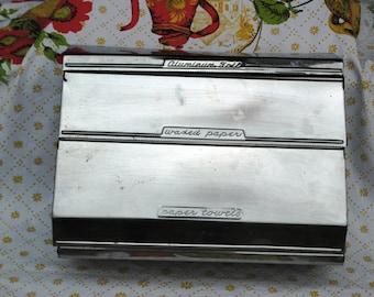 Retro Metal Kitchen Caddy