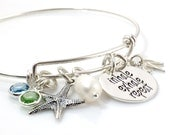 Inhale Exhale Repeat Simply Charming Bangle Bracelet - sterling silver
