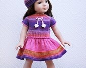 18'' doll clothes American Girl outfit Valentine Day