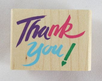 Rubber Stampede - Thank You Rubber Stamp - RS271