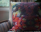 Quilted Modern Pillow-Market East Collection 2