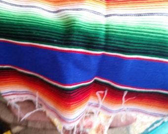 colorful serape