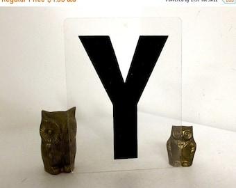 SALE Vintage Sign Letter Y for industrial home decor