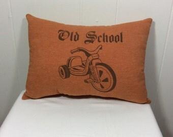 Decorative pillow, Throw Pillow, Couch Pillow, Bed Pillow, Chair Pillow, Orange Pillow, Accent Pillow, Gift Idea, Home Decor