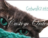 Custom Order for Jeffrey Jacobs - Custom knit sweater