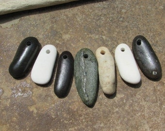BEACH Stone Stick CHARMS Dangles Stone Supply