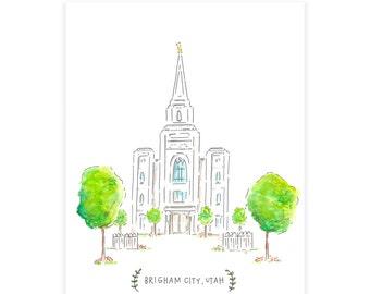 Brigham City Temple PRINTABLES