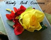Beam - Vegan Friendly - ATS Tribal Belly Dance Hair Garden Cluster Fascinator Clip