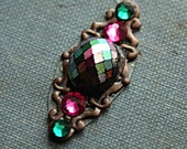 Dessert Rose ATS Tribal Fusion Belly Dance Bindi Facial Jewelry Adornment